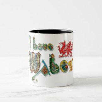 I Love Wales Mug