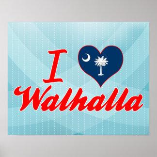 I Love Walhalla, South Carolina Poster