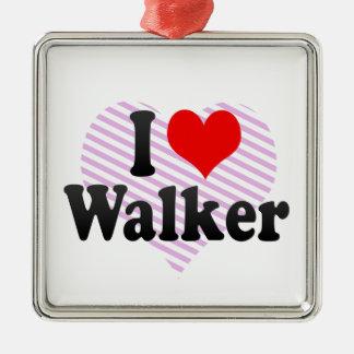 I love Walker Christmas Ornament