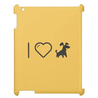 I Love Walking a Dog Cover For The iPad 2 3 4