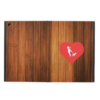 I Love Walking Dogs Icon iPad Air Cover