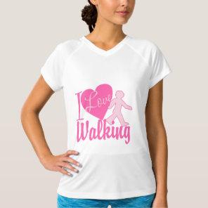 I Love Walking T-Shirt