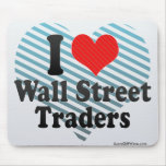 I Love Wall Street Traders Mouse Pad