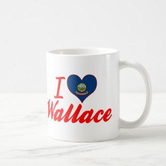 I Love Wallace, Idaho Coffee Mug