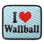 I love Wallball iPad Sleeves