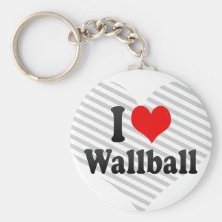 I love Wallball Key Chain