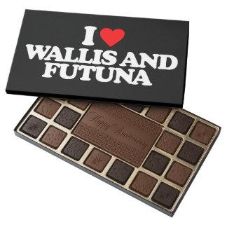 I LOVE WALLIS AND FUTUNA 45 PIECE BOX OF CHOCOLATES