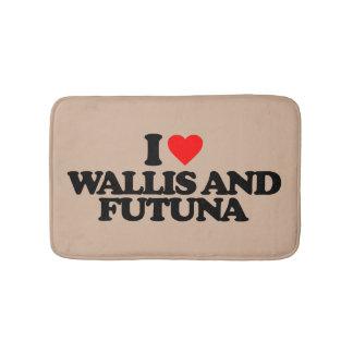 I LOVE WALLIS AND FUTUNA BATH MAT