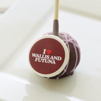 I LOVE WALLIS AND FUTUNA CAKE POPS