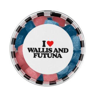 I LOVE WALLIS AND FUTUNA CHEWING GUM
