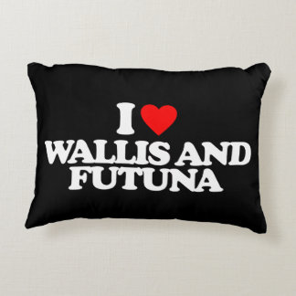 I LOVE WALLIS AND FUTUNA DECORATIVE PILLOW