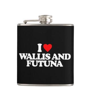 I LOVE WALLIS AND FUTUNA FLASK