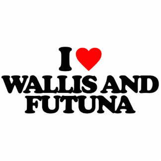 I LOVE WALLIS AND FUTUNA PHOTO CUT OUTS