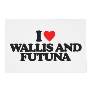 I LOVE WALLIS AND FUTUNA PLACEMAT
