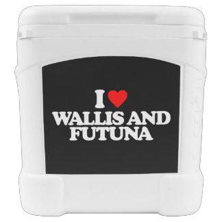 I LOVE WALLIS AND FUTUNA ROLLING COOLER