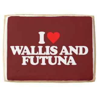 I LOVE WALLIS AND FUTUNA SHORTBREAD COOKIE