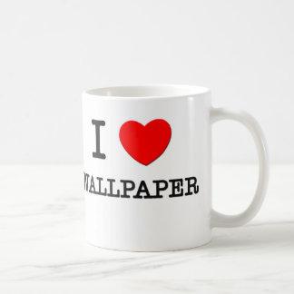 I Love Wallpaper Mugs