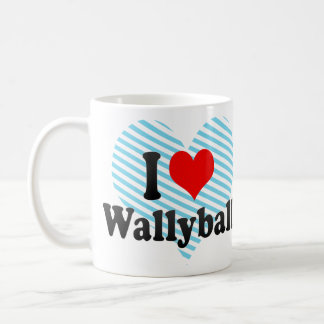 I love Wallyball Coffee Mug