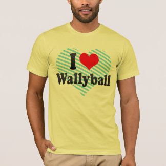 I love Wallyball T-Shirt