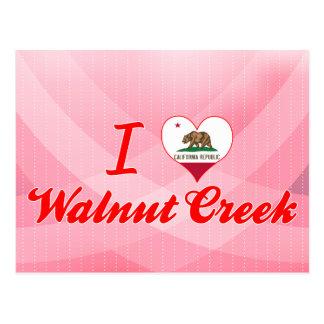 I Love Walnut Creek, California Postcards