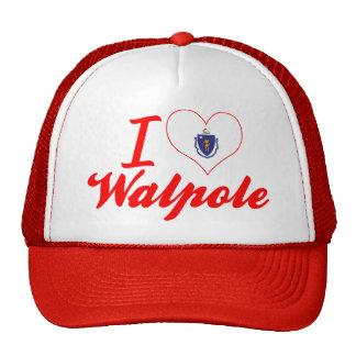 I Love Walpole, Massachusetts Hat