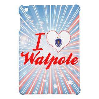 I Love Walpole, Massachusetts iPad Mini Cover