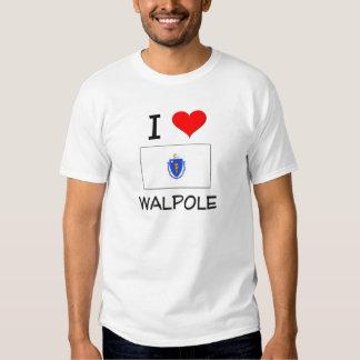 I Love Walpole Massachusetts Tees