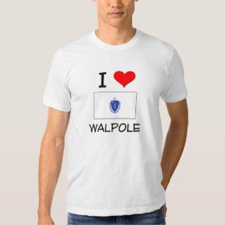 I Love Walpole Massachusetts Tshirts