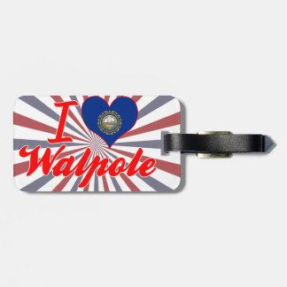 I Love Walpole, New Hampshire Luggage Tag