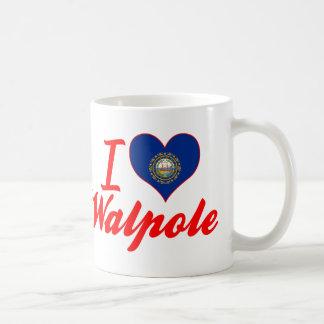 I Love Walpole, New Hampshire Mugs