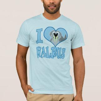 I Love walrus T-Shirt