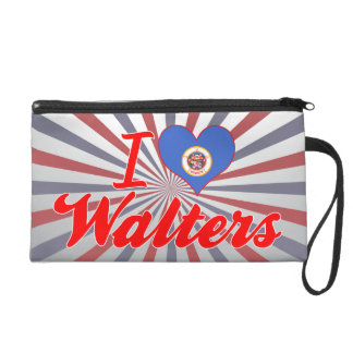 I Love Walters, Minnesota Wristlet Purses