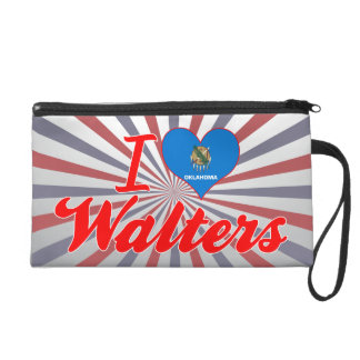 I Love Walters, Oklahoma Wristlet Purse