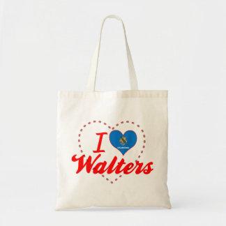 I Love Walters, Oklahoma Tote Bags