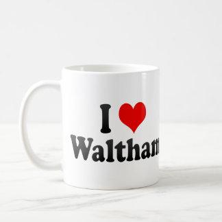 I Love Waltham, United States Coffee Mug