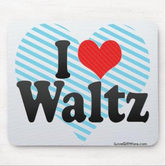 I Love Waltz Mousepads
