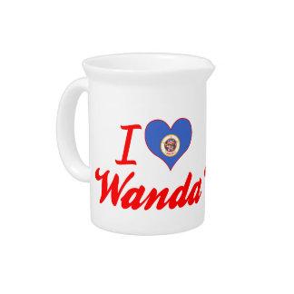 I Love Wanda Minnesota Pitcher