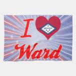 I Love Ward, Arkansas Hand Towels