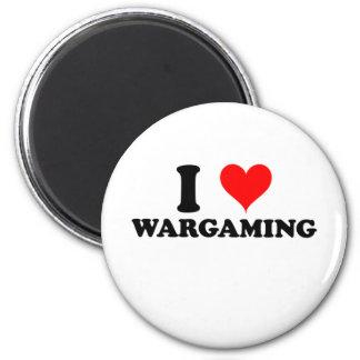 I Love Wargaming Magnet
