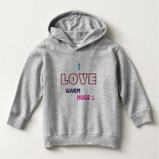 I love warm hugs (kids ver.) hoodie