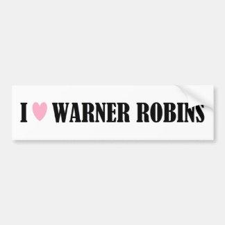 I Love Warner Robins Bumper Sticker