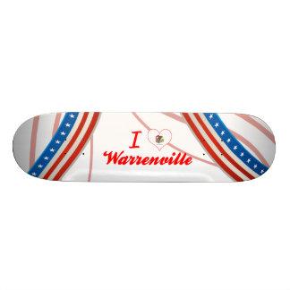 I Love Warrenville, Illinois Skate Decks