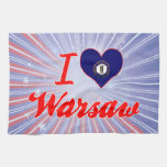 I Love Warsaw, Kentucky Kitchen Towels