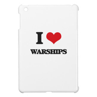I love Warships iPad Mini Case