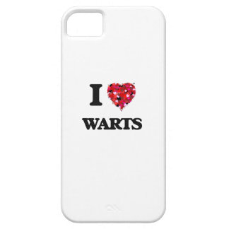 I love Warts iPhone 5 Covers