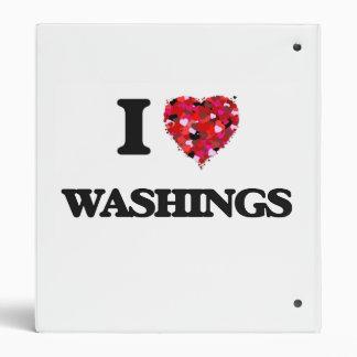 I love Washings 3 Ring Binder