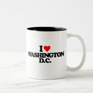 I LOVE WASHINGTON D.C. Two-Tone COFFEE MUG