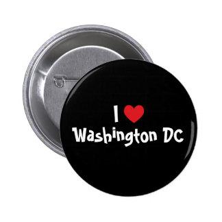 I Love Washington DC 2 Inch Round Button