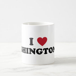 I Love Washington DC Classic White Coffee Mug