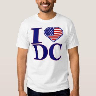 I Love Washington DC Forth Of July Edition T-Shirt